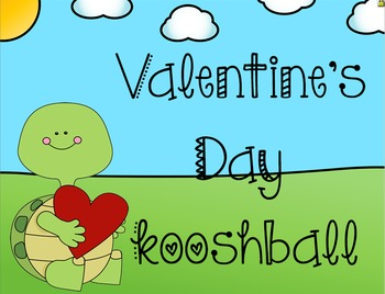 Valentine's Day Kooshball Game for SMARTboard