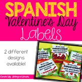 Valentine's Day Labels (SPANISH)