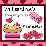 Valentine's Day Language Arts Printables