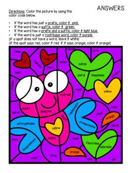 Valentine's Day Language Arts Worksheets