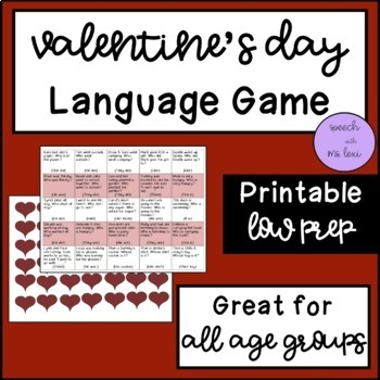 Valentine's Day Language Game!