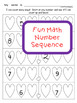 Valentines Day Language and Math Worksheets