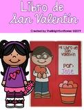 Valentine's Day Lap-Book in Spanish / Libro del Día de San
