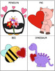 Large Vocabulary Cards for Valentine's Day (Matching Game/Go-Fish) LOW PREP