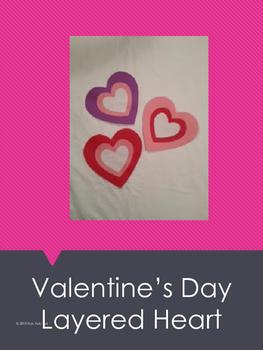 Valentine's Day Layered Heart Pattern