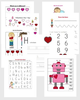 Valentine's Day Learning Pack