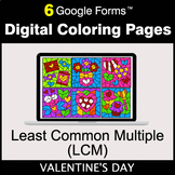 Valentine's Day: Least Common Multiple (LCM) - Digital Col
