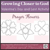 """Valentine's Day/ Lent Bulletin Board Activity """"Growing Clo"""