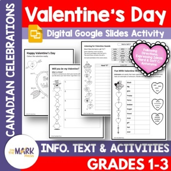 Valentine's Day Lesson Plan