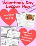 Valentine's Day Lesson Plan for MS or HS