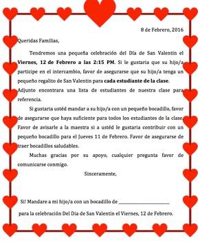 Valentine's Day Letter