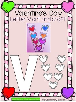 Valentine´s Day Letter Arts and Crafts