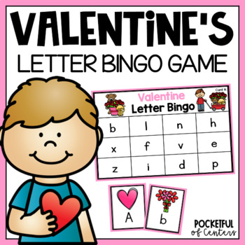 Valentine's Day Letter Bingo