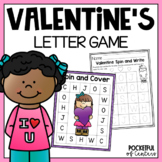 Valentine's Day Letter Game