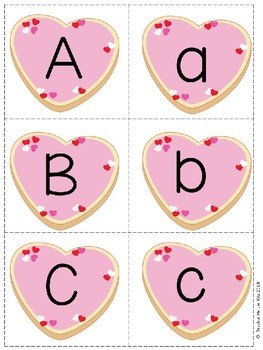 Valentine's Day Letter Match