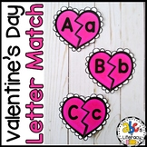Valentine's Day Letter Match Puzzles