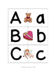 Valentine's Day Letter Matching Cards - Uppercase to Lower