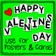 Valentine's Day Letter Scissoring - for Early Learners
