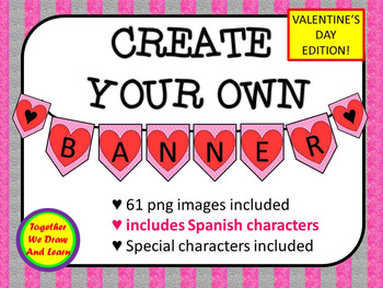 Valentine's Day Letters Clip art