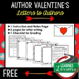 Valentine's Day Letters to Authors (English), Valentine's Day Activity Free