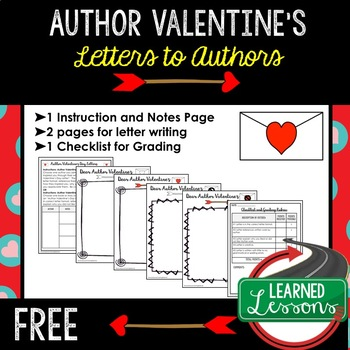 Valentines day activities science teaching resources teachers pay valentines day letters to authors english valentines day activity free fandeluxe Images