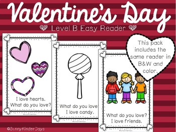 Valentine's Day Level B Easy Reader