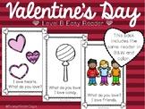 Valentine's Day Level B Easy Reader