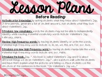 Valentine's Day Level C Easy Reader