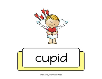 Valentine's Day Leveled Word Books (Adapted Books)