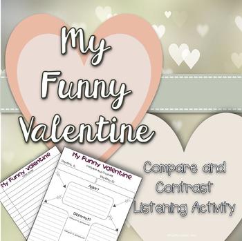 """Valentine's Day Listening Activity - """"My Funny Valentine"""""""