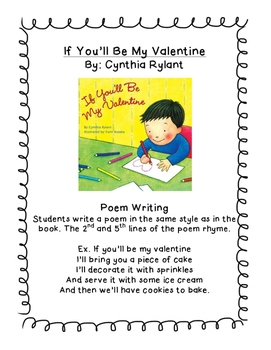 Valentine's Day Literacy Activities