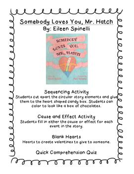 Valentine's Day Literacy Activities