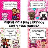 Valentine's Day Literacy Activities Bundle