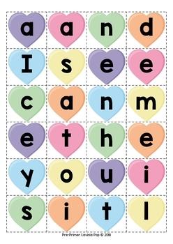 Valentine's Day Literacy Centers for Kindergarten