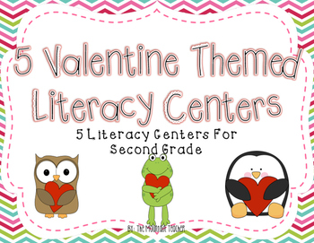 Valentine's Day Literacy Centers for Second Grade