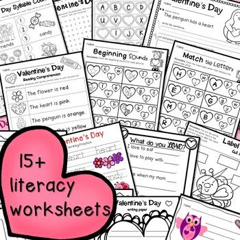 Valentine's Day Literacy Fun!