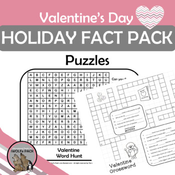 Valentine's Day Holiday Fact Pack {History, Symbols, Traditions}