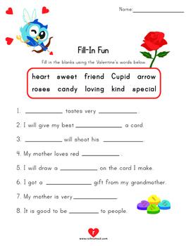 Valentine's Day Literacy Activities - 2nd Grade