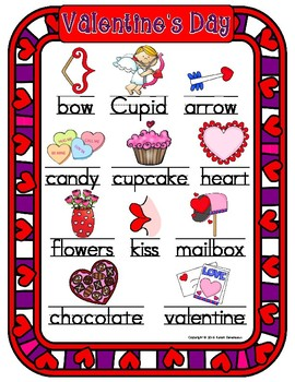 Valentine's Day Literacy Packet