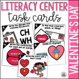 Valentine's Day Literacy Task Cards
