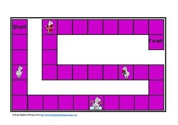 Valentine's Day Llamas Missing Number Multiplication Equations
