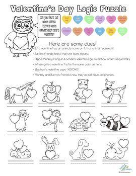 Valentine's Day Logic Puzzle