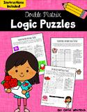 Valentine's Day Logic Puzzles -  Double Matrix