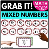 Convert Mixed Numbers and Improper Fractions Game   4th Gr