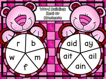 Valentine's Day Long Vowel Activity Pack