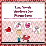 Valentine's Day Long Vowels (CVCe, Blends, and Digraphs) Game