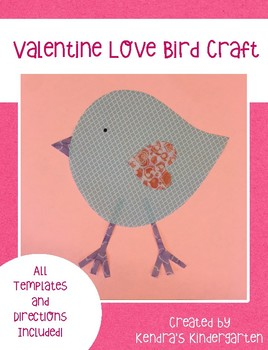 Valentine's Day Love Bird Craft