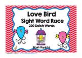 Valentine's Day Love Bird Sight Word Race