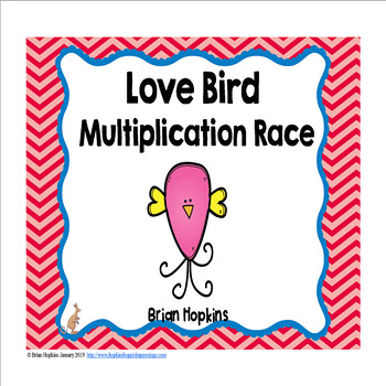 Valentine's Day Love Birds Multiplication Race