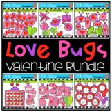 Valentine's Day Love Bug Bundle {P4 Clips Trioriginals Dig